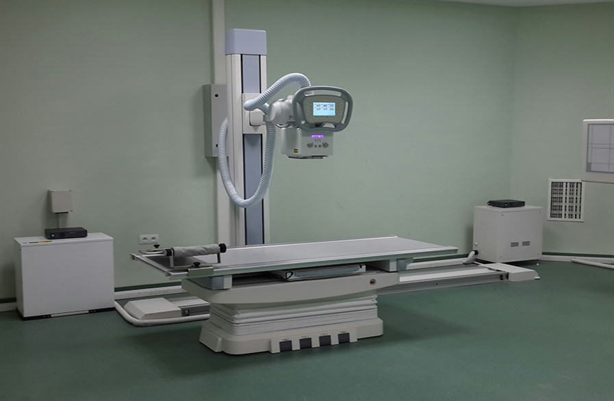 FLOOR MOUNTED DUAL FLAT PANEL DETECTOR DIGITAL X-RAY SYSTEMS